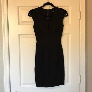 Lulu's black cocktail dress